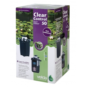 ClearControl 50 + 18W UV-C filtras
